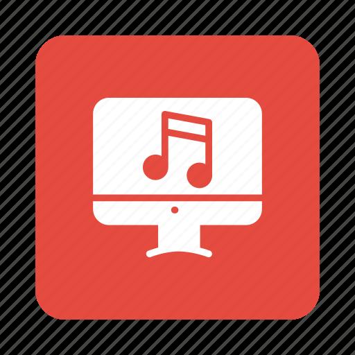 media, mediaplayer, music, online, onlinemedia, player, playlist icon