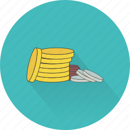 buy, change, coins, commerce, money, payment, shopping icon