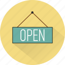 commerce, eshop, marketing, open, shop, shopping, store icon