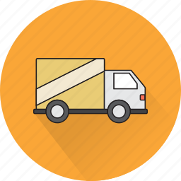 car, delivery, eshop, logistics, shopping, truck icon