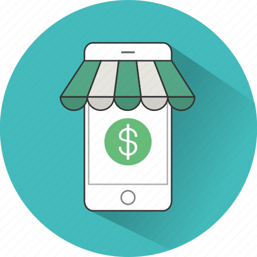 commerce, ecommerce, eshop, mobile, shop, shopping, store icon