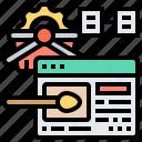 developer, end, front, interface, website