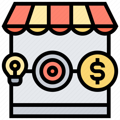 Marketplace, sellers, store, target, vendors icon - Download on Iconfinder