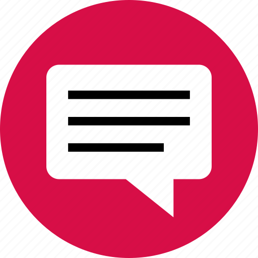 chat, code, conversation, lines, sms, talk icon