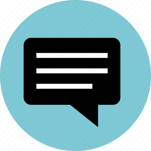 bubble, chat, code, conversation, lines, sms, talk icon