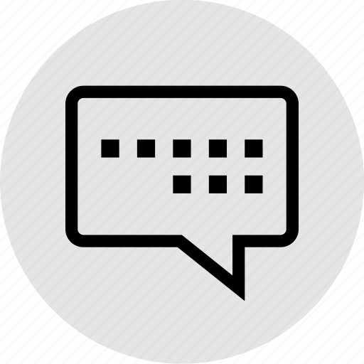 bubble, chat, conversation, loading, sms, talk, text icon