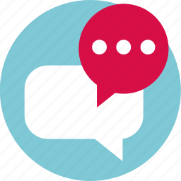 bubble, chat, conversation, load, sms, talk icon