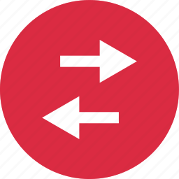 arrows, connect, connection, left, online, right icon