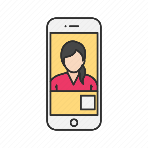 facetime, online chat, video, video call icon
