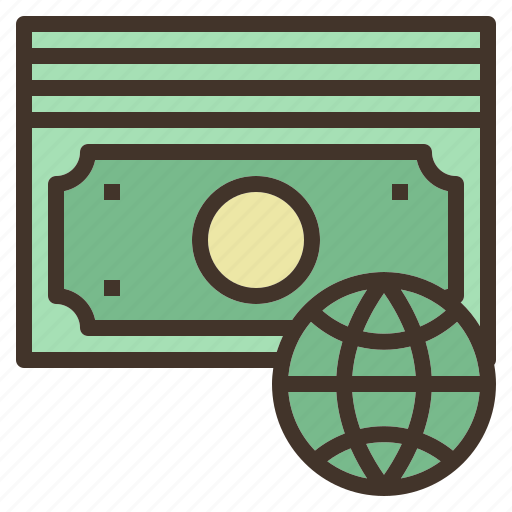 bill, electronic, money, online, payment icon