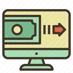 internet, money, online, payment, transfer icon