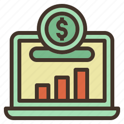 chart, growth, investment, market, saving, stock icon