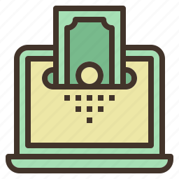 bank, money, saving, sending, transfer icon