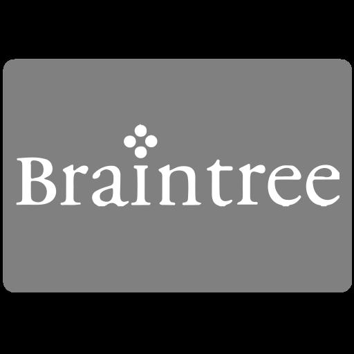 braintree, methods, payment icon