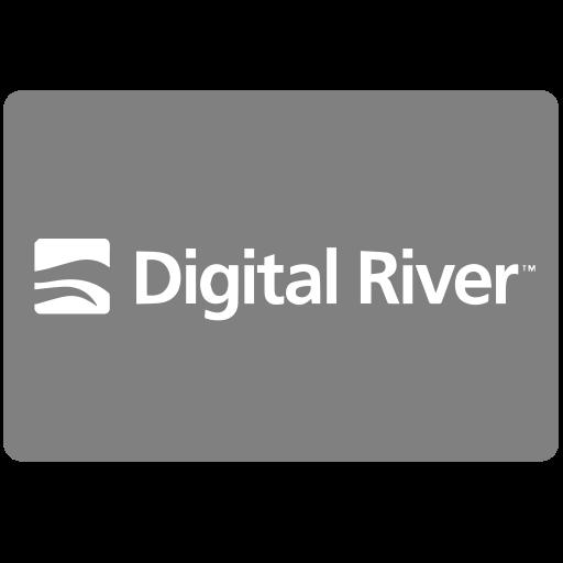 digital, digitalriver, methods, payment, river icon