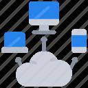 cloud, computer, hosting, mobile, online, tablet, web