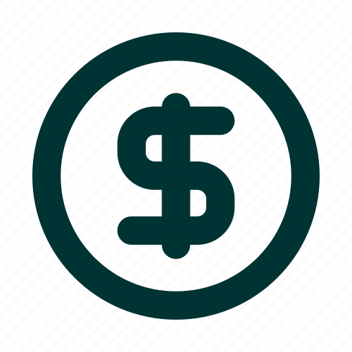 currency, dollar, online, shop icon