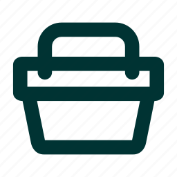 basket, buy, caddie, cart, empty, loaded, online, shop, shopping icon