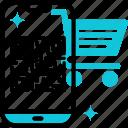 qr, code, scan, smartphone, mobile