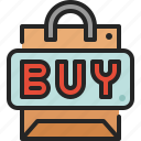 buy, shopping, button, purchase, bag, online, store