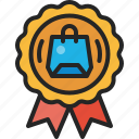 guarantee, quality, best, award, badge, premium, certificate