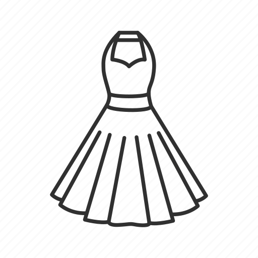 attire, clothing, dress, gown icon