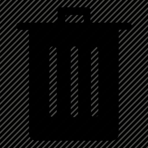 bin, trash, waste icon
