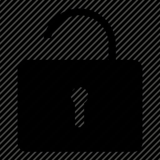 lock, logout, open lock, signout icon