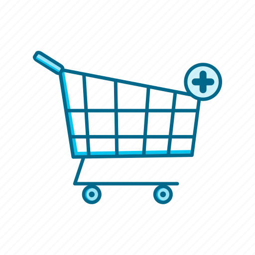 business, buy, cart, marketing, plus, shopping, store icon