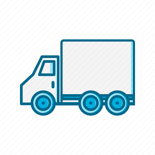 car, delivery, logistics, shipping, transport, truck, vehicle icon