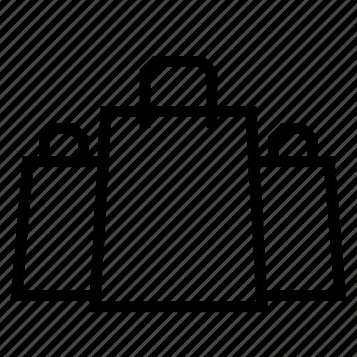 bag, shopping bag icon