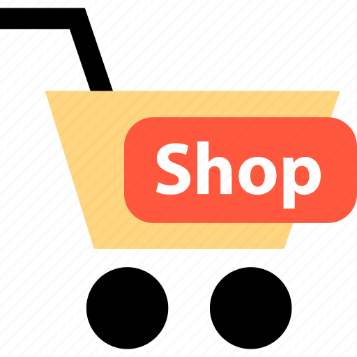 cart, online, shop icon