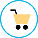 cart, shopping, web icon