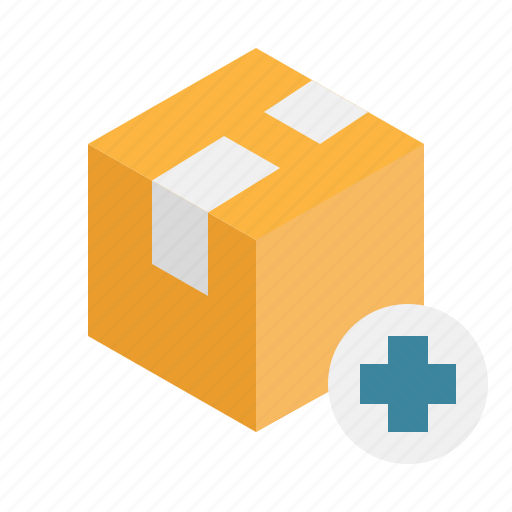 add, boxes, package, product, unbox, warehouse icon