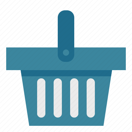 basket, online, shop, shopper, shopping, supermarket icon