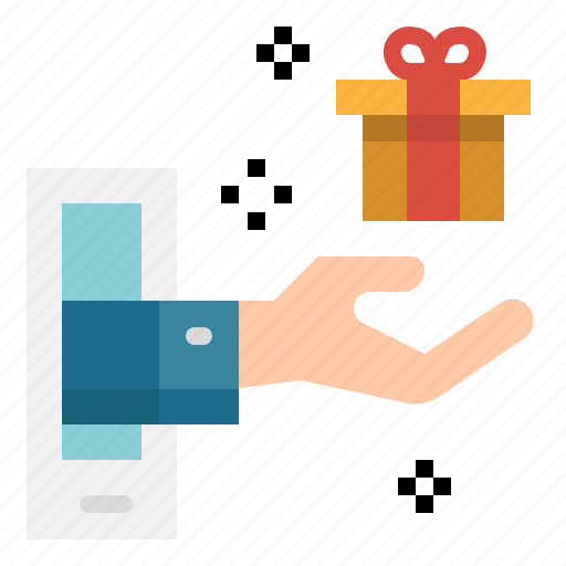 delivery, gift, online, shipping, shop, shopping icon