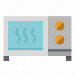cooking, electronic, heating, microwave, oven, technology icon