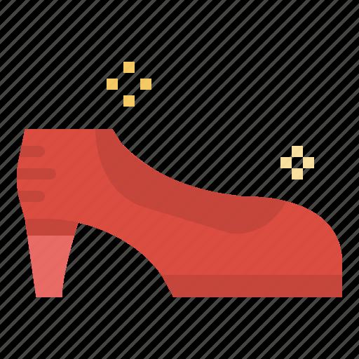 fashion, female, footwear, heel, hight, shoe, woman icon