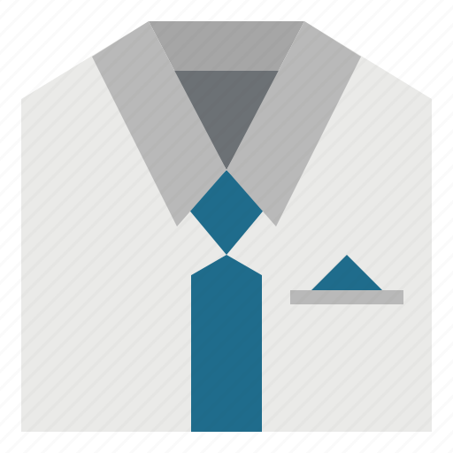 business, businessman, clothes, fashion, man, shirt, tie icon