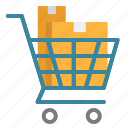 cart, commerce, online, shopping, store, supermarket icon