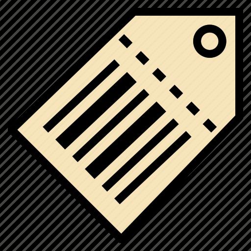 barcode, discount, label, percent, price, tag icon