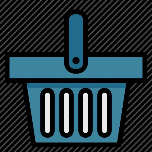 basket, online, shop, shopper, shopping, supermarket icon