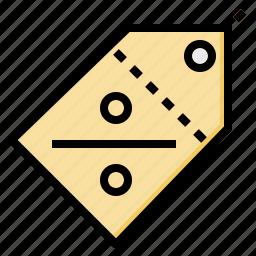 discount, label, percent, price, tag icon