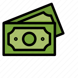 business, cash, currency, money, notes icon