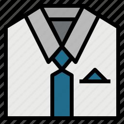 business, businessman, clothes, fashion, man, shirt, tie icon