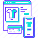 ecommerce, mobile, online, shop, shopping, store, website icon