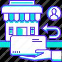 ecommerce, item, product, return, shop, shopping, user