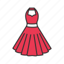 clothes, dress, fashion, woman's dress icon