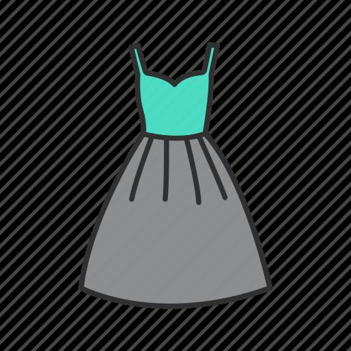 clothes, dress, fashion, women's dress icon