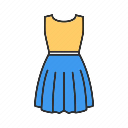 clothes, dress, fashion, women's dress icon